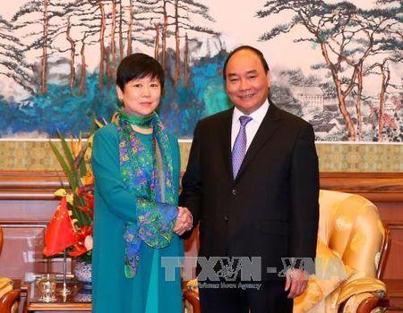 Thu tuong tiep Hoi Huu nghi Doi ngoai Nhan dan Trung Quoc - Anh 1