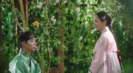 May hoa anh trang tap 7: Park Bo Gum - Kim Yoo Jung hon nhau dam duoi - Anh 5