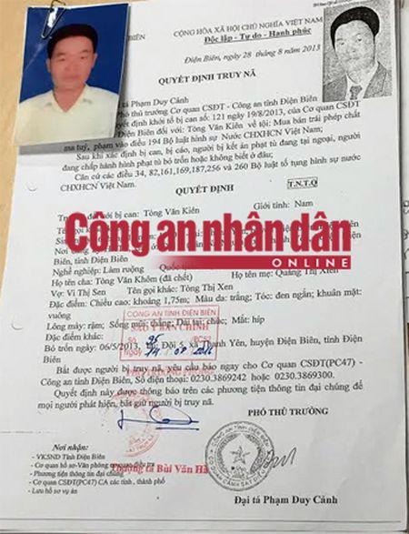 Dan giai ten trum ma tuy mua ban 350 banh heroin tu Lao ve Viet Nam - Anh 1