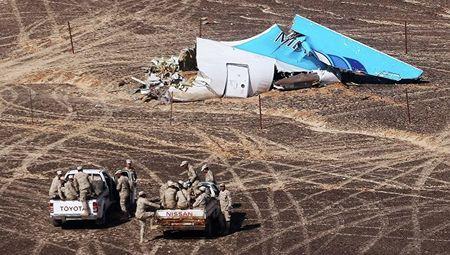 Xac dinh vi tri qua bom tren may bay A321 gap nan o Sinai - Anh 1