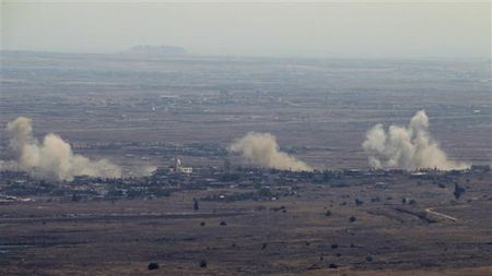 Syria ban ha lien luc 2 may bay cua Israel - Anh 1