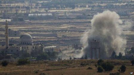 Quan doi Syria tieu diet nhieu thu linh Hoi giao cuc doan tren Cao nguyen Golan - Anh 1