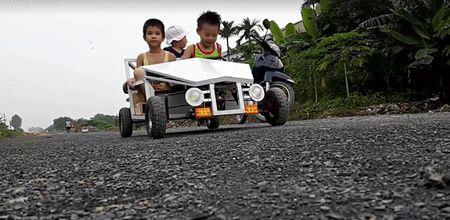 Thanh Hoa: Bo che tao xe F1 tang con trai - Anh 1