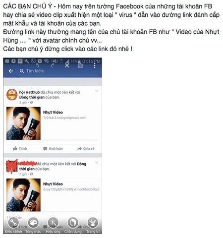 Nhieu tai khoan Facebook tai Viet Nam dinh virus, chia se link video doc hai tran lan - Anh 1
