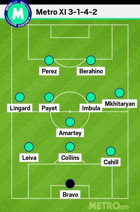 Bravo, Mkhitaryan lot doi hinh te nhat vong 4 Premier League - Anh 1