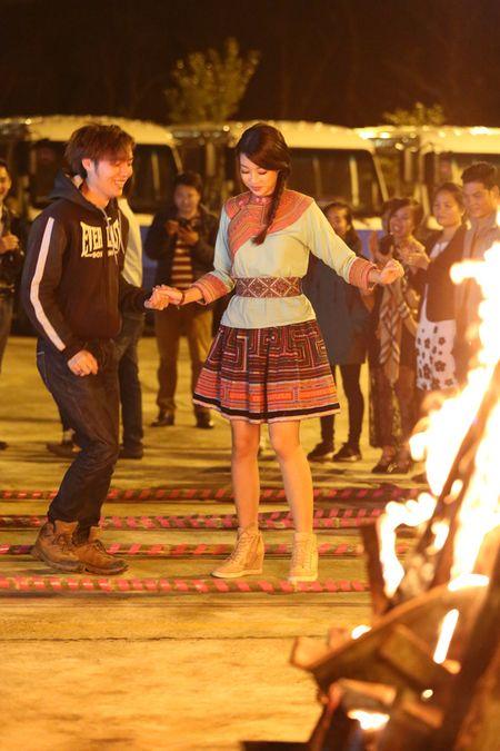 Hoa hau Do My Linh quang ba du lich tai Sa Pa - Anh 1