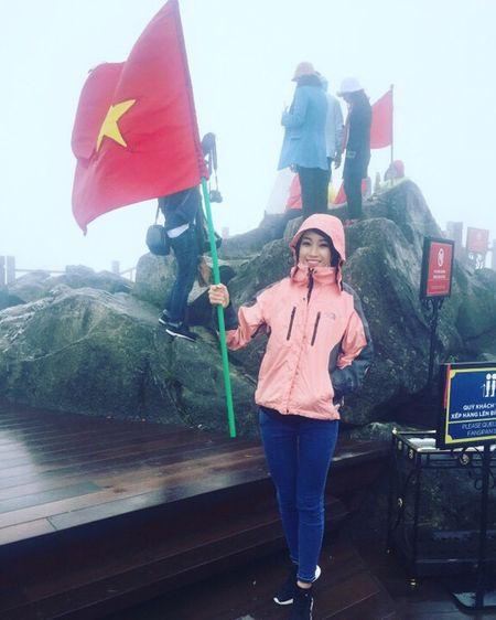 Hoa hau Do My Linh quang ba du lich tai Sa Pa - Anh 2