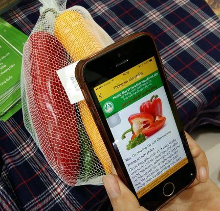 Truy nguon goc thuc pham qua smartphone: Co thuc su an tam? - Anh 1