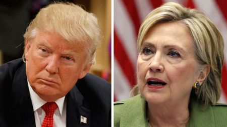 Clinton mac trong benh, Donald Trump hon ho khoe ho so y te - Anh 1