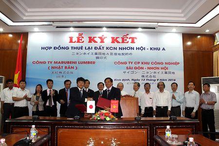 Doanh nghiep Nhat Ban dau tu nha may 5 trieu USD tai Binh Dinh - Anh 1