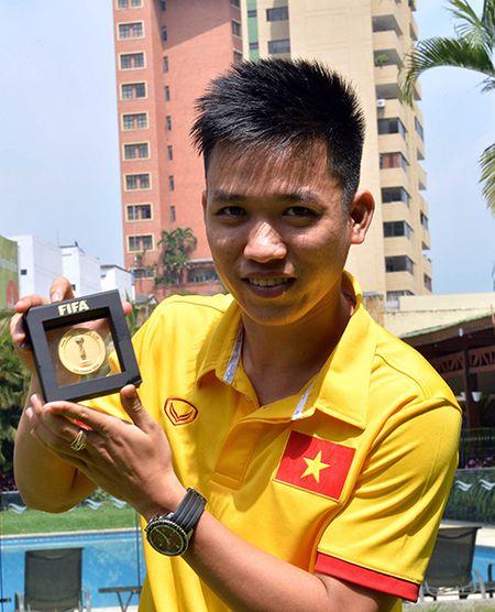 Minh Tri, Van Vu len song FIFA TV - Anh 2