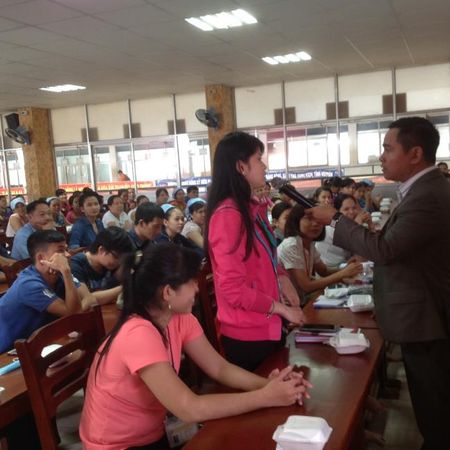 Hoi LHPN TP: Trang bi ky nang xay dung hanh phuc gia dinh cho cong nhan - Anh 5