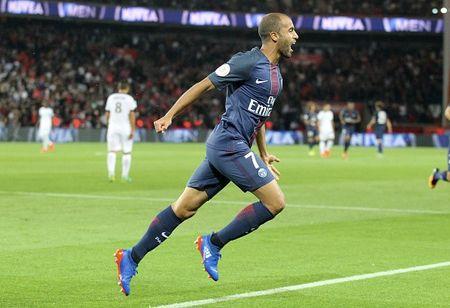 Doi hinh 'sieu tan cong' o cuoc do suc PSG va Arsenal - Anh 9