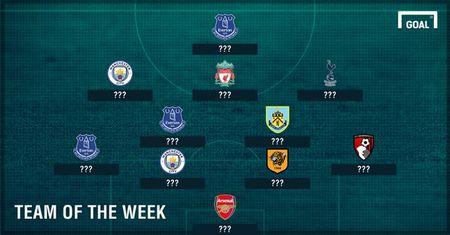 Everton va Man City ap dao doi hinh xuat sac nhat vong 4 NHA - Anh 1