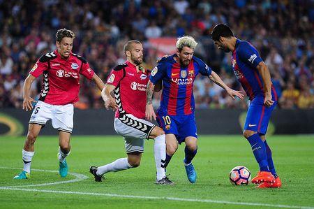 Messi tro lai, tam tau M-N-S san sang xuat tran truoc Celtic - Anh 8
