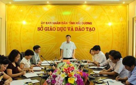 So GD-DT Hai Duong: Phong 12 nguoi, 7 lanh dao - Anh 1
