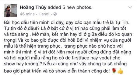 Lan Khue dap loi Minh Tu, bai hoc cho sao Viet - Anh 3