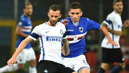 Lao tuong lap cong, Sampdoria vuot qua Inter Milan day kich tinh - Anh 1
