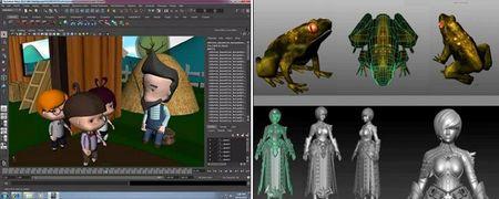 Co gai Viet xinh dep thuc hien do hoa 3D cho phim Hollywood - Anh 5
