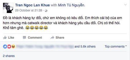 Bi nguoi mau Minh Tu to chen ep, tranh gianh vi tri, Lan Khue len tieng - Anh 4