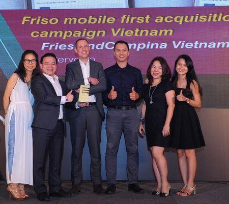 FrieslandCampina Viet Nam gianh 5 giai thuong SMARTIESTM Viet Nam 2016 - Anh 2