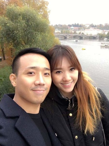 Tran Thanh, Hari Won hanh phuc giua troi Tay - Anh 2
