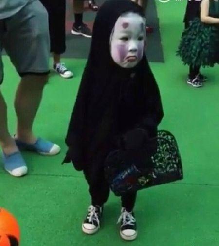 Co nhoc xu Dai hoa trang ma Vo Dien hot nhat Halloween - Anh 6