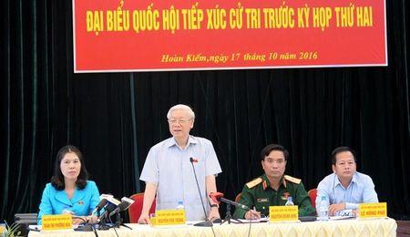 Huong ung y kien Tong Bi thu: Lam the nao de nhot quyen luc vao 'long quy che'? - Anh 1