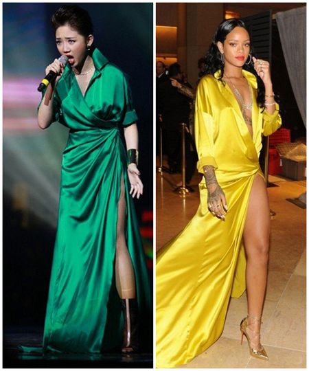 Minh Trieu, Mai Ngo, Toc Tien: Ai la ban sao hoan hao cua Rihanna? - Anh 6
