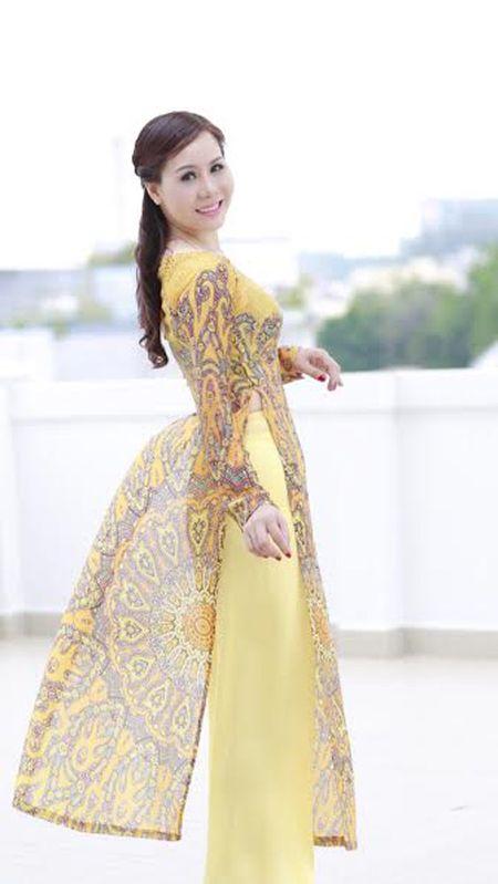 Nu hoang Kim Chi dep mong manh voi ao dai cach tan - Anh 5