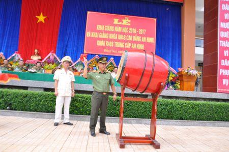 Truong Cao dang An ninh Nhan dan II khai giang nam hoc moi - Anh 1