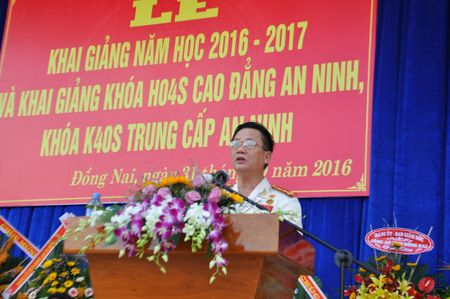 Truong Cao dang An ninh Nhan dan II khai giang nam hoc moi - Anh 2