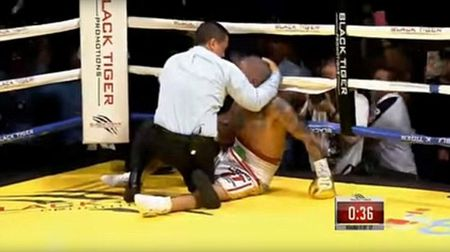 Boxing: Knock-out tro, cau tiet tan luon thay - Anh 2