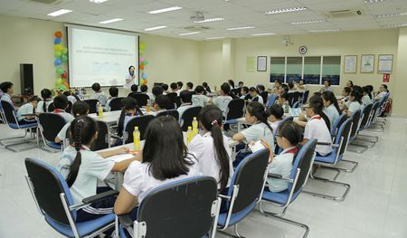 700 hoc sinh tieu hoc tham quan thuc te nha may Suntory PepsiCo Viet Nam - Anh 2