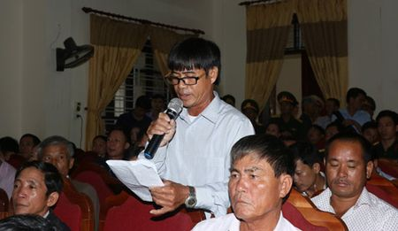 Pho Thu tuong Thuong truc kiem tra cong tac boi thuong thiet hai tai Ha Tinh - Anh 2