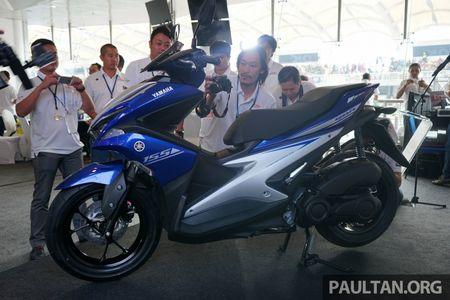 Yamaha NVX 2017 ra mat thi truong ASEAN, ve Viet Nam vao thang 12 - Anh 3