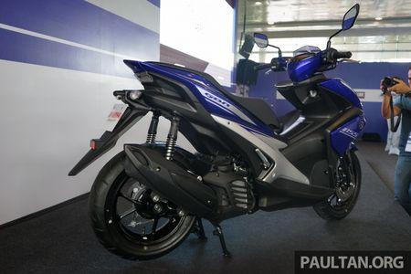 Yamaha NVX 2017 ra mat thi truong ASEAN, ve Viet Nam vao thang 12 - Anh 4