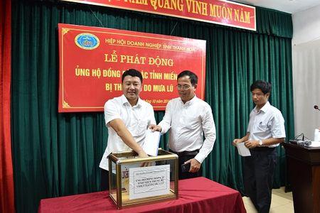 Doanh nghiep Thanh Hoa ung ho bao lut hon 700 trieu dong - Anh 1