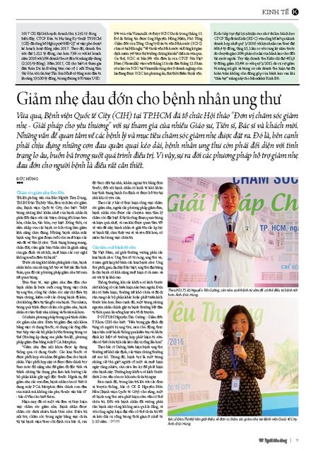 Giam nhe dau don cho benh nhan ung thu - Anh 3