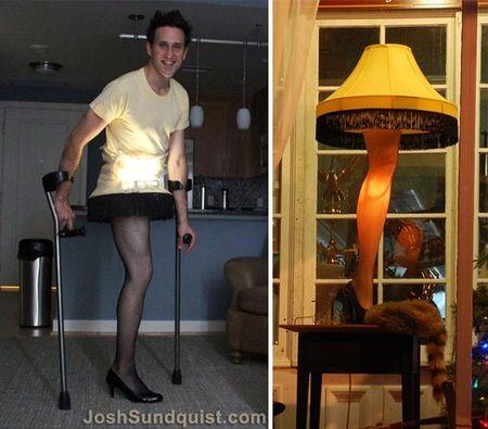 Josh Sundquist - chang trai khuyet tat duoc mong cho nhat vao moi dip Halloween - Anh 4