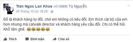 Tu su vu Lan Khue - Minh Tu: lieu nguoi mau Viet co dang hoat dong chi vi vi tri vedette? - Anh 3