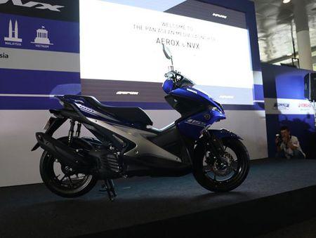 Yamaha NVX thay the Nouvo se ve Viet Nam vao thang 12 - Anh 2