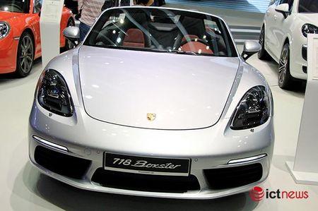 Chiem nguong ve dep Porsche 718 Boxster tai Viet Nam - Anh 3