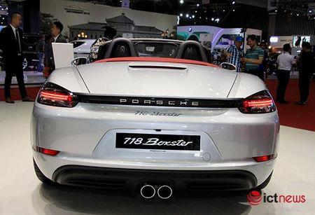 Chiem nguong ve dep Porsche 718 Boxster tai Viet Nam - Anh 4