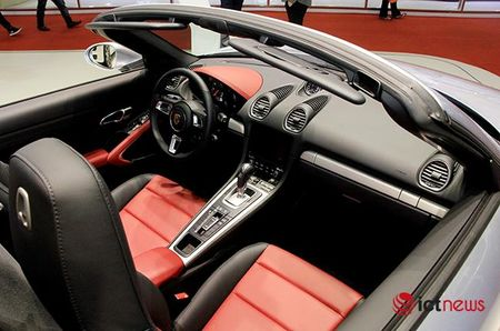 Chiem nguong ve dep Porsche 718 Boxster tai Viet Nam - Anh 7