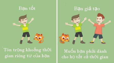 10 cach phan biet giua ban tot va nguoi gia tao - Anh 2