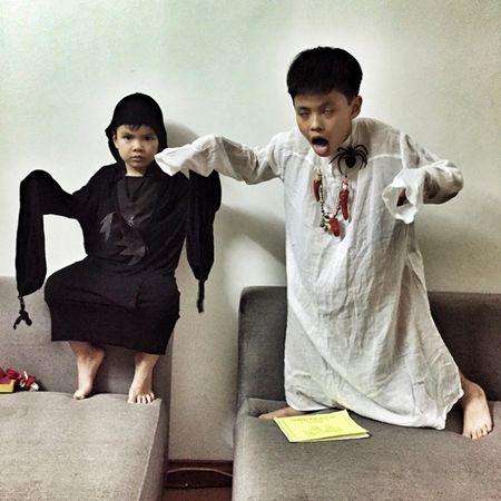 Chet khiep sao Viet bien hinh trong Halloween - Anh 9