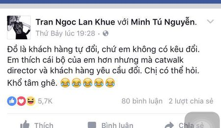 Sieu mau Minh Tu len tieng ve chuyen tranh gianh do dien voi Lan Khue - Anh 1