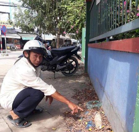 Phat hien dau dan phao trong khu dan cu tai Tien Giang - Anh 1