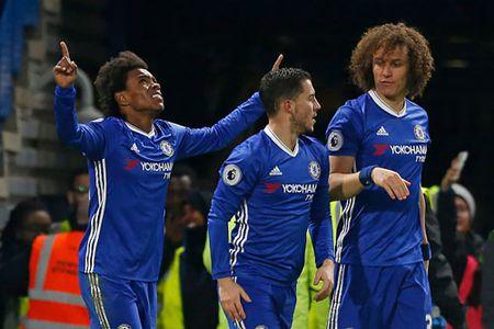 Clip: Willian lap cu dup giup Chelsea dai thang truoc Stoke - Anh 1